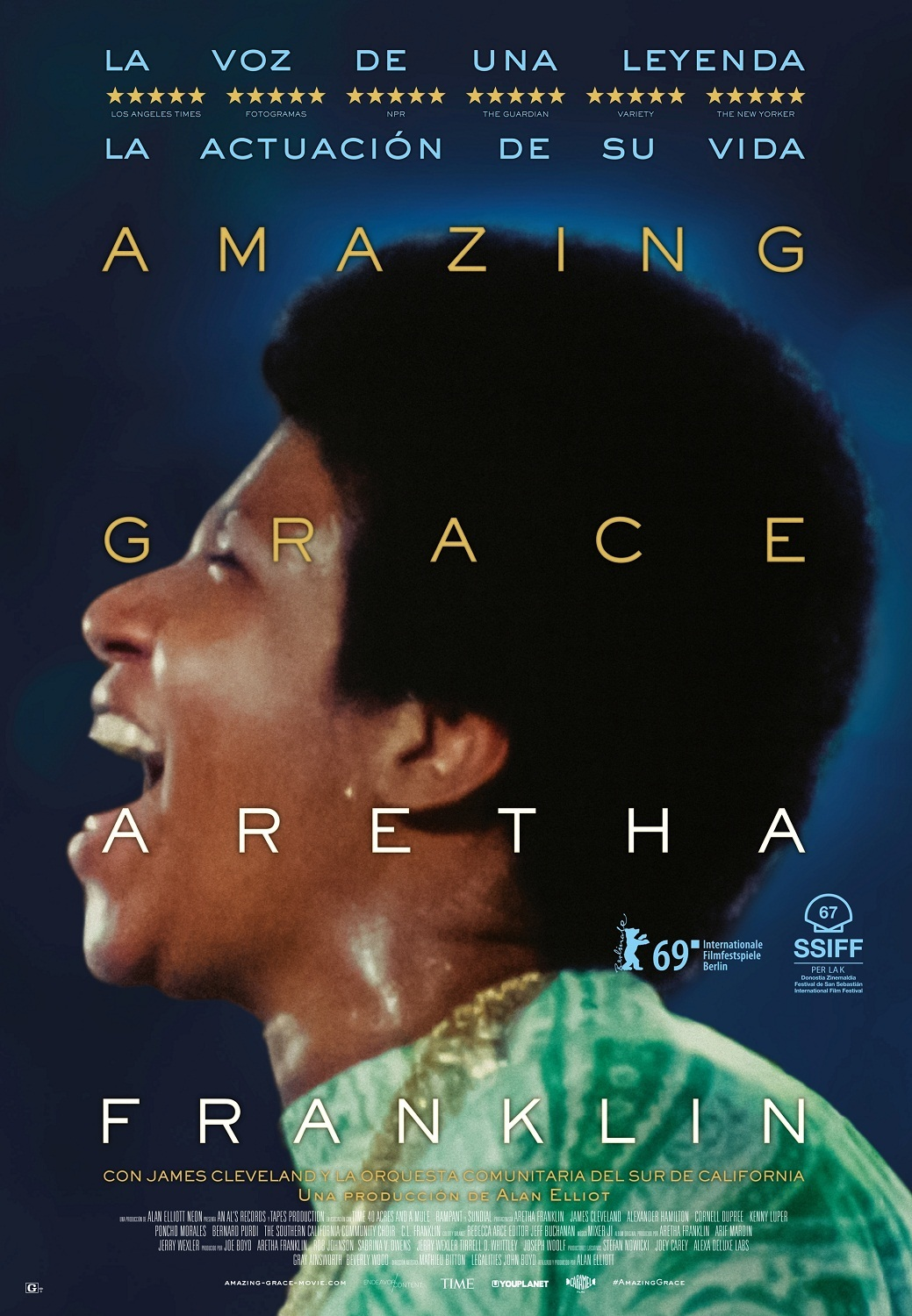 Cartel de Amazing Grace