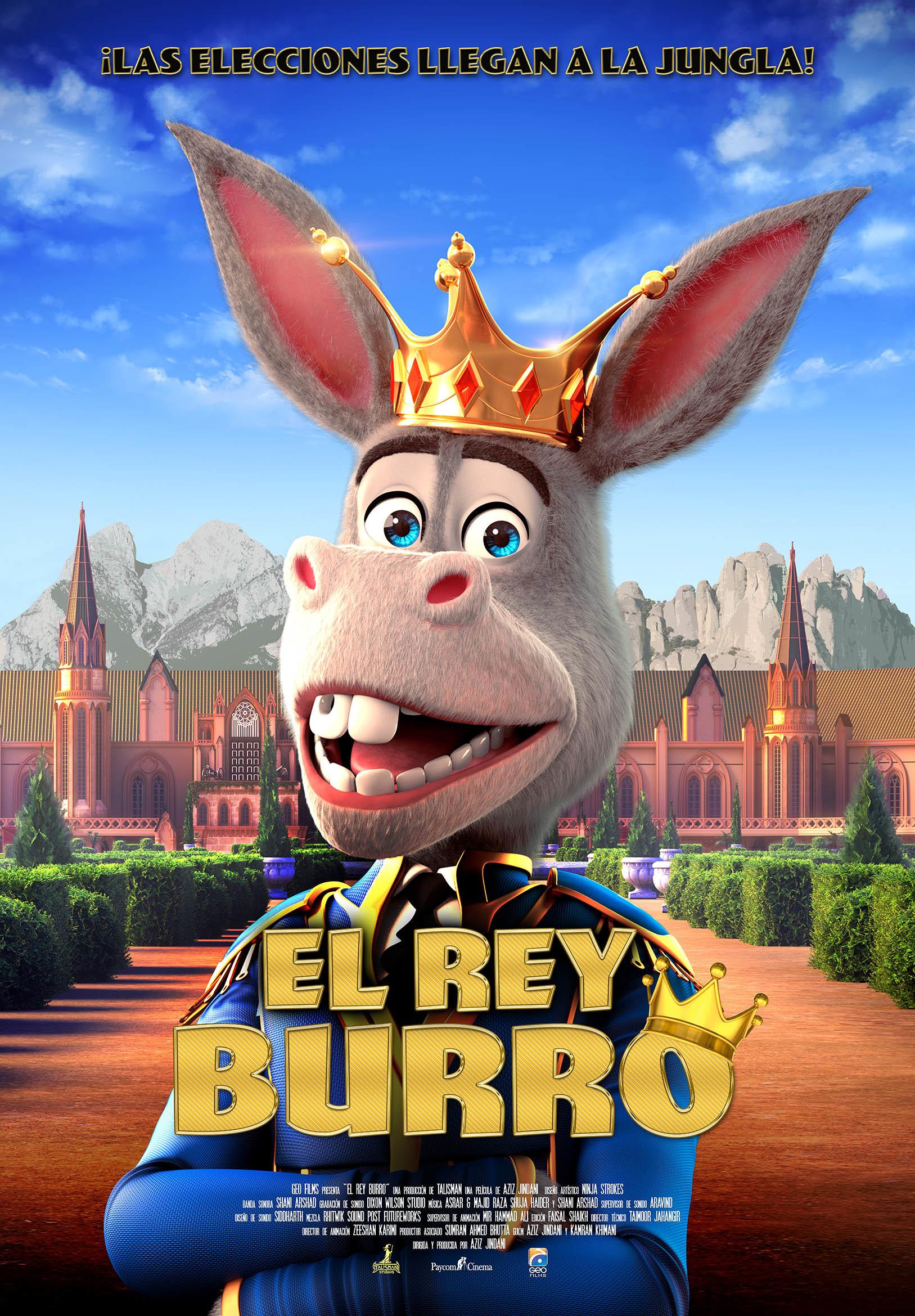 Cartel de El Rey Burro