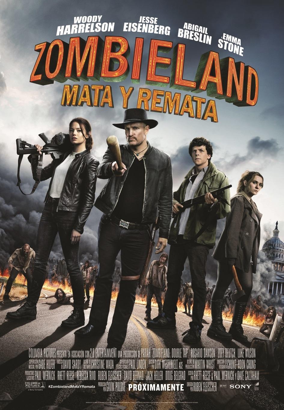Cartel de Zombieland: Mata y remata