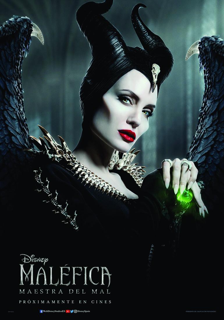 Cartel de Maléfica: Maestra del mal