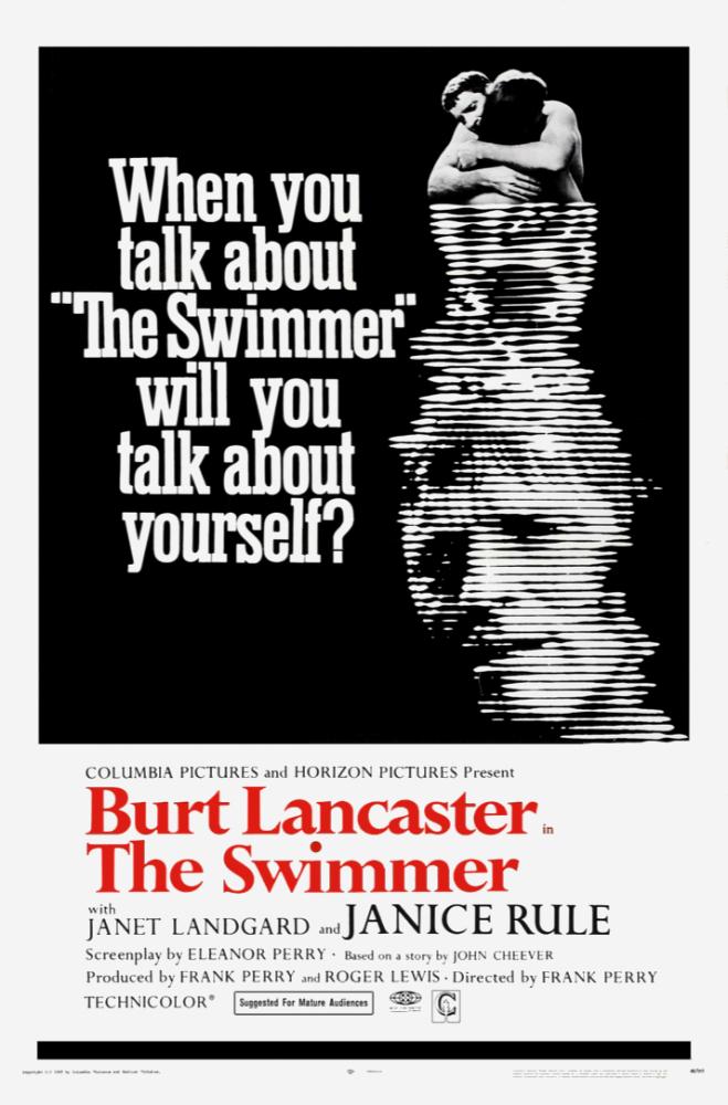 Cartel de El nadador