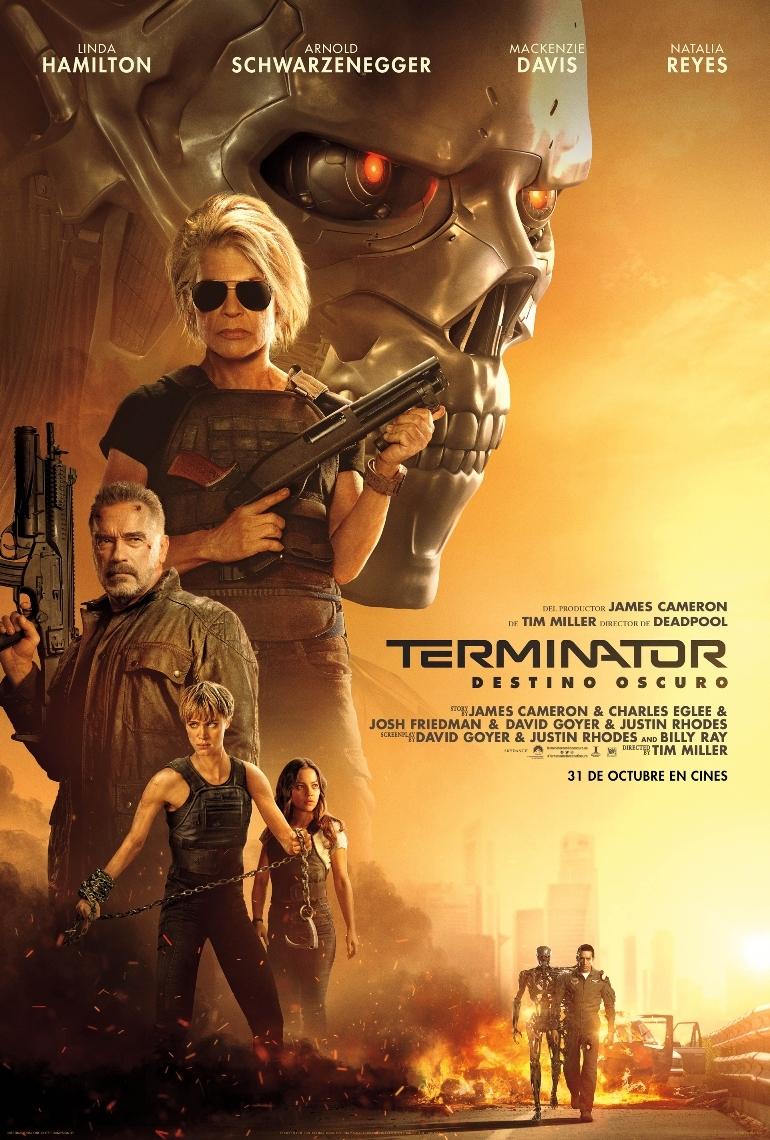 Cartel de Terminator: destino oscuro
