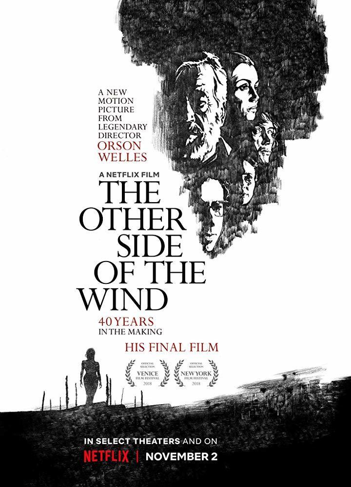Cartel de Al otro lado del viento