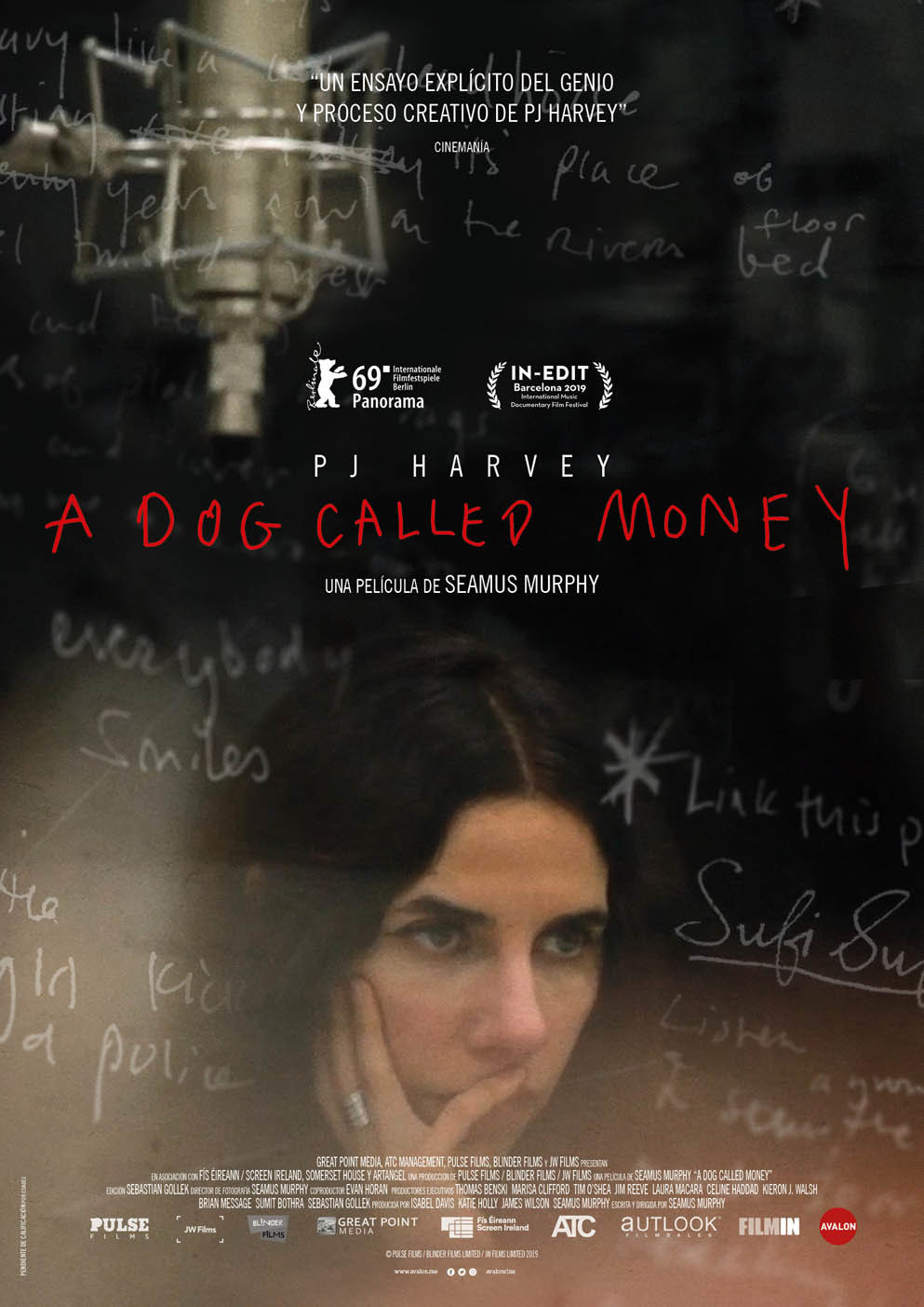 Cartel de PJ Harvey: A Dog Called Money