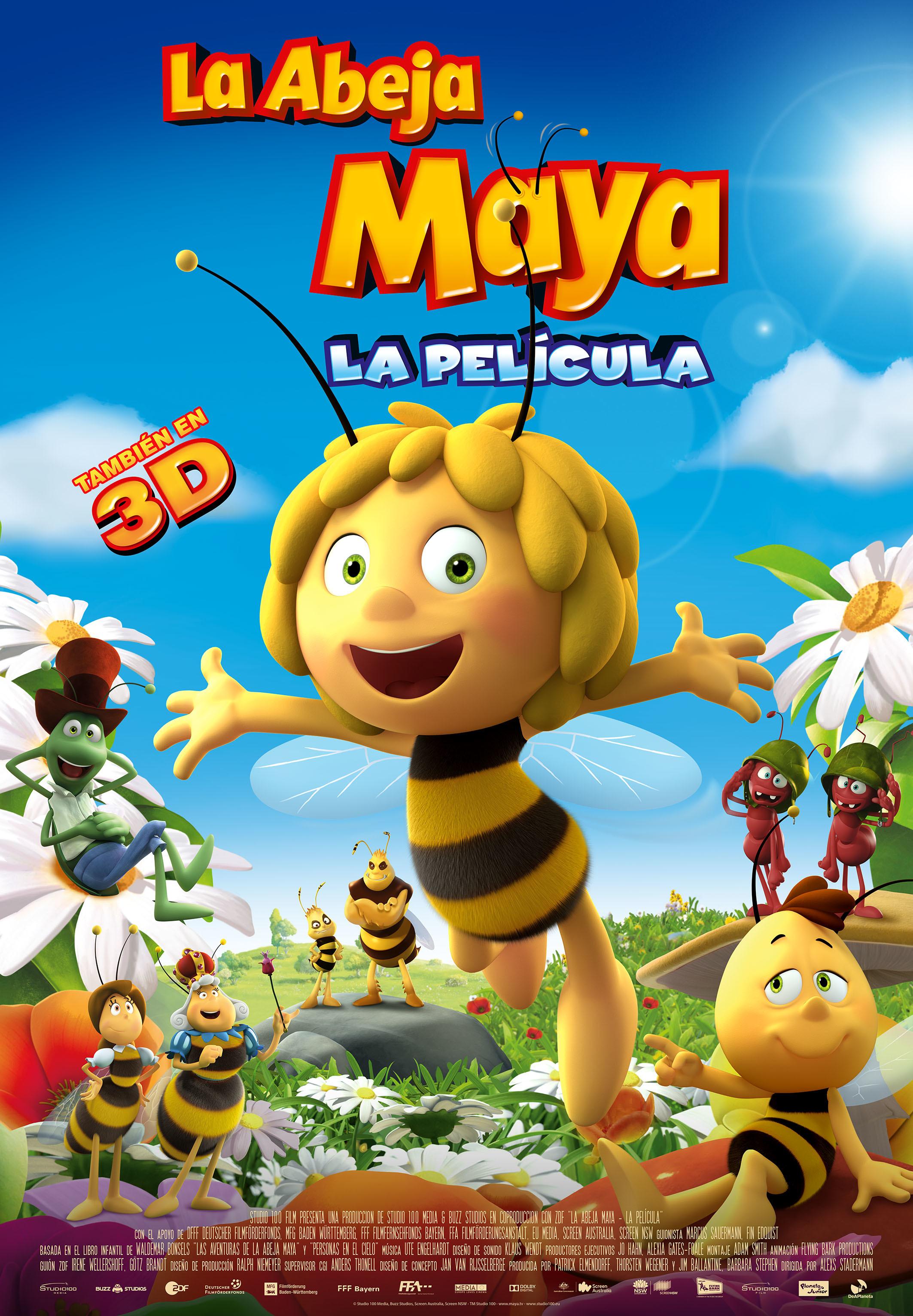 Cartel de La abeja Maya: la película (2014)