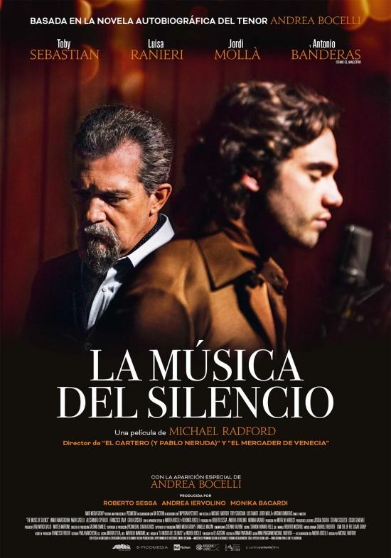 Cartel de La música del silencio