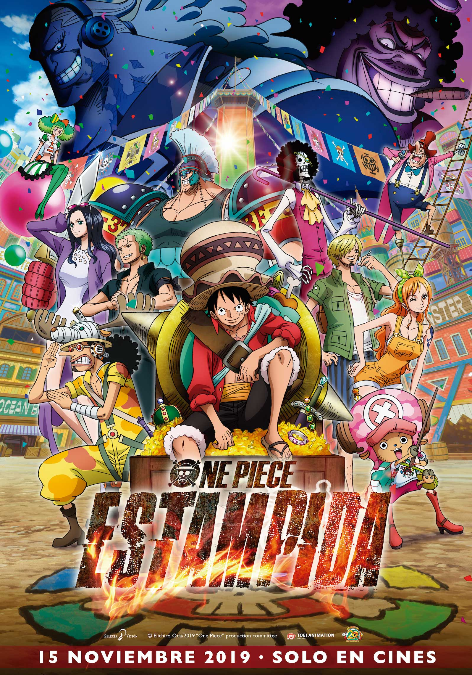 Cartel de One Piece: Estampida