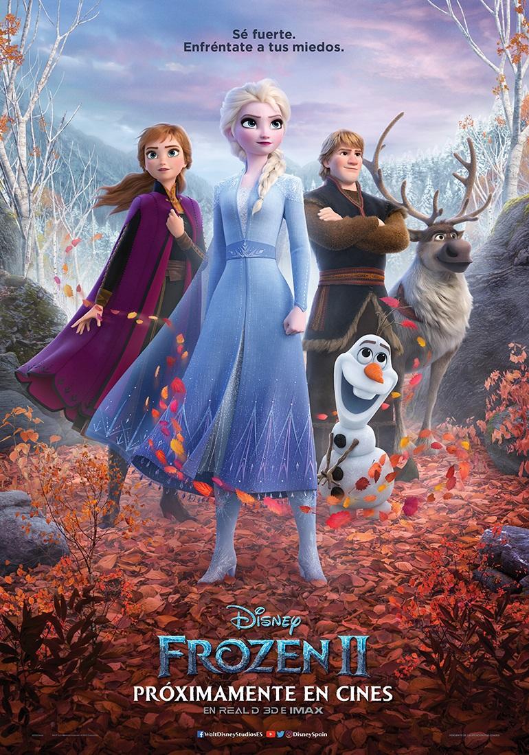Cartel de Frozen 2