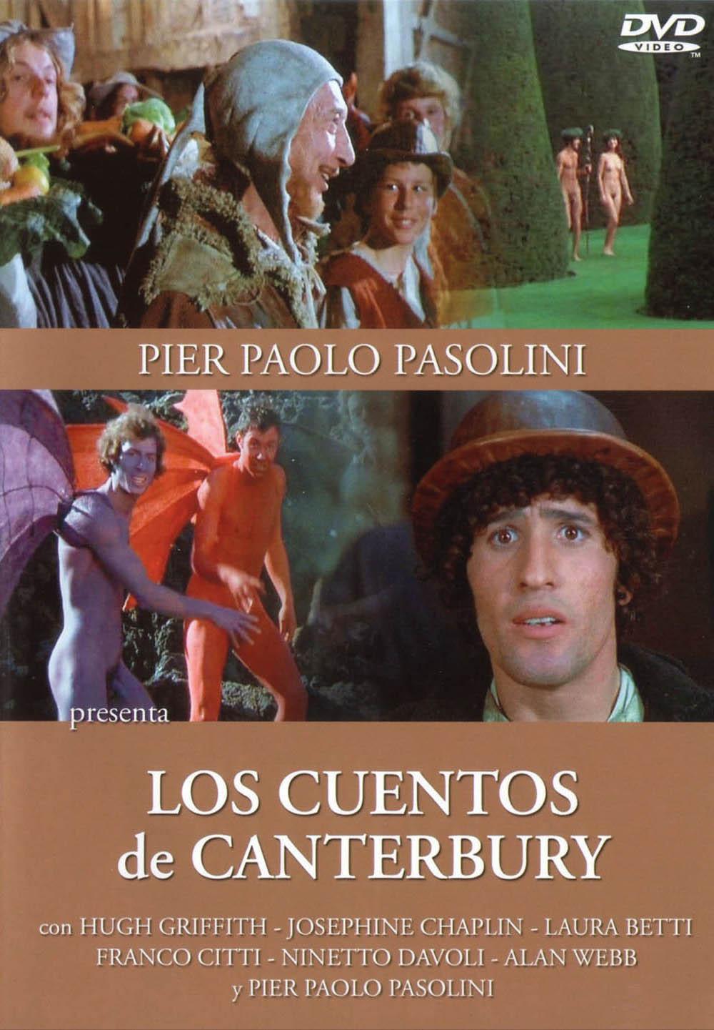 Cartel de Los cuentos de Canterbury