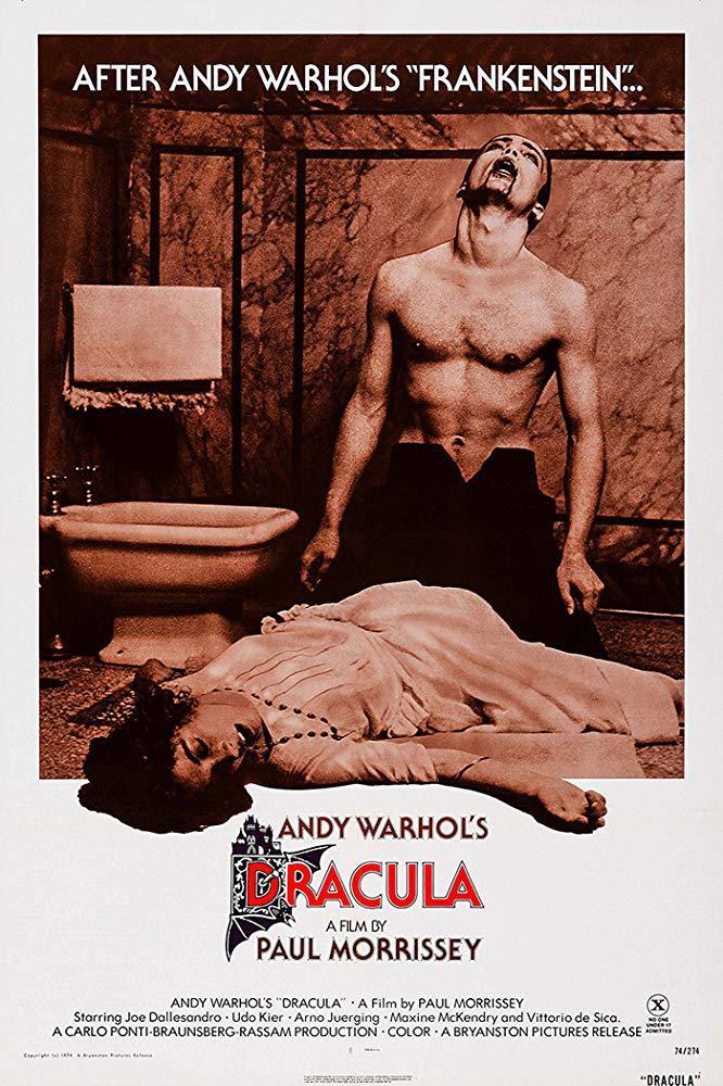Cartel de Sangre para Drácula
