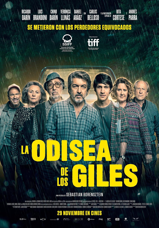 Cartel de La odisea de los Giles