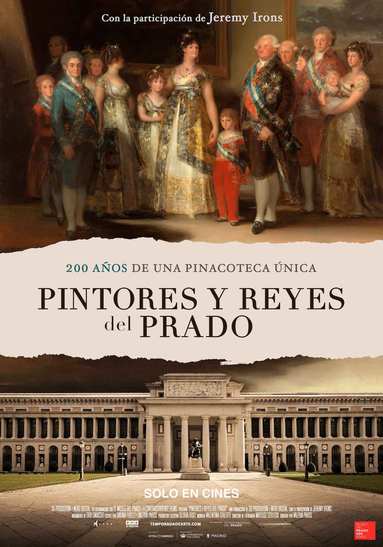 Cartel de Pintores y reyes del Prado