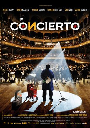 Cartel de El concierto