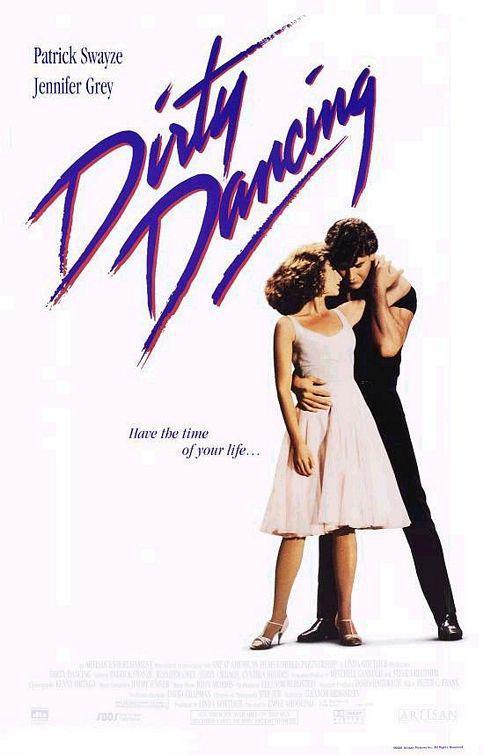 Cartel de Dirty dancing