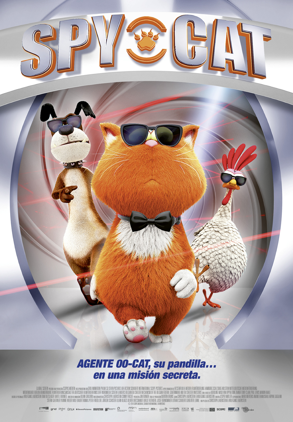 Cartel de Spy Cat