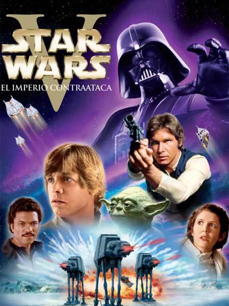 Cartel de Star Wars: El imperio contraataca