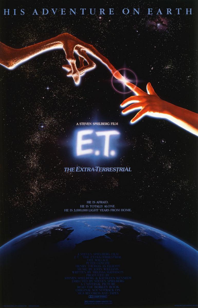 Cartel de E.T. (El Extraterrestre)