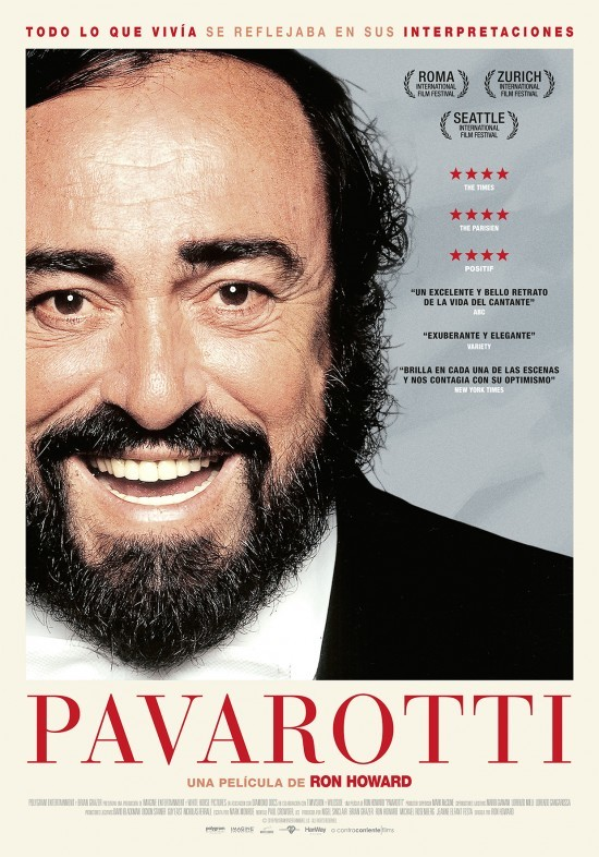 Cartel de Pavarotti