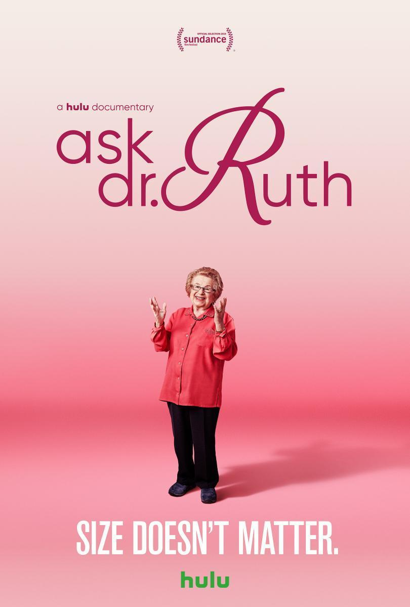 Cartel de Ask Dr. Ruth