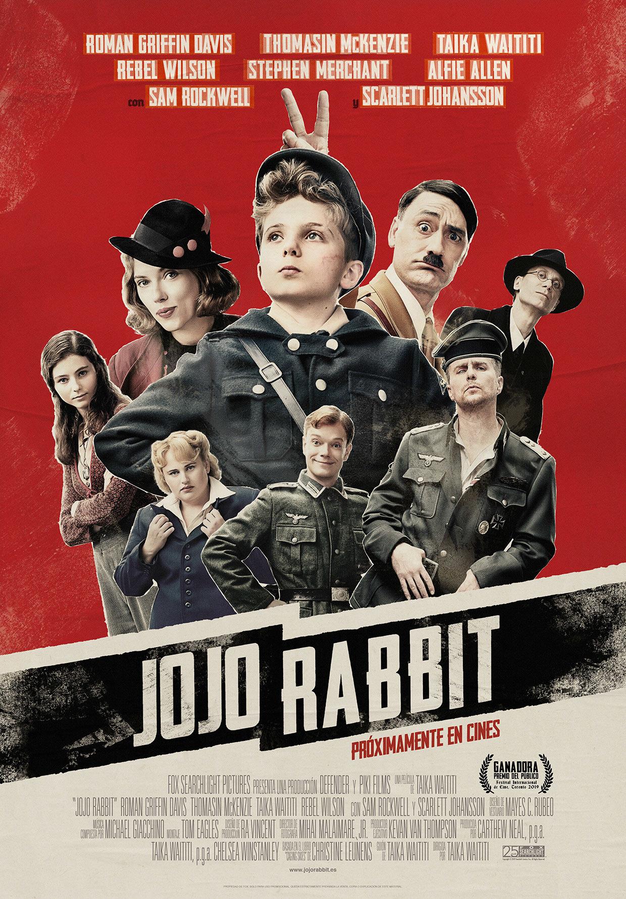 Cartel de Jojo Rabbit
