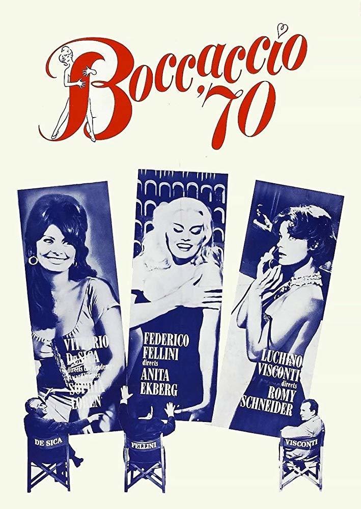 Cartel de Bocaccio '70