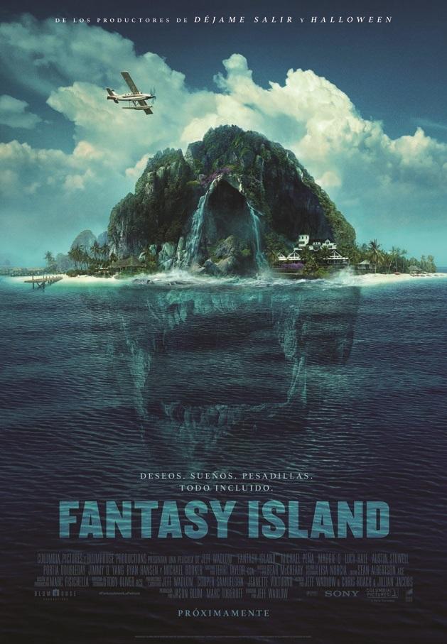 Cartel de Fantasy Island