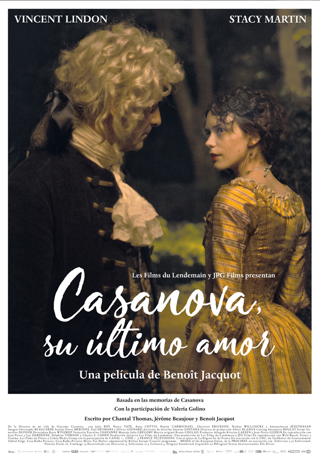 Cartel de Casanova, su último amor
