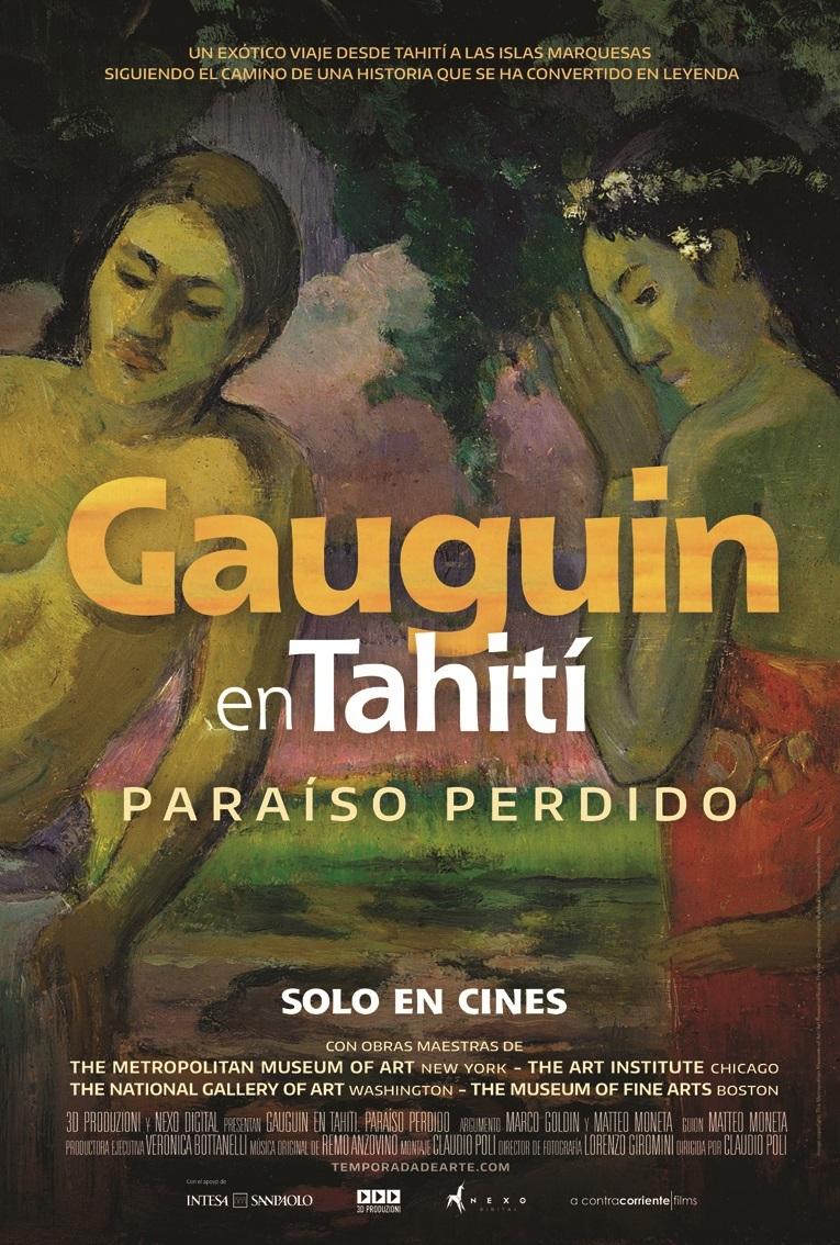 Cartel de Gauguin en Tahití: Paraíso perdido