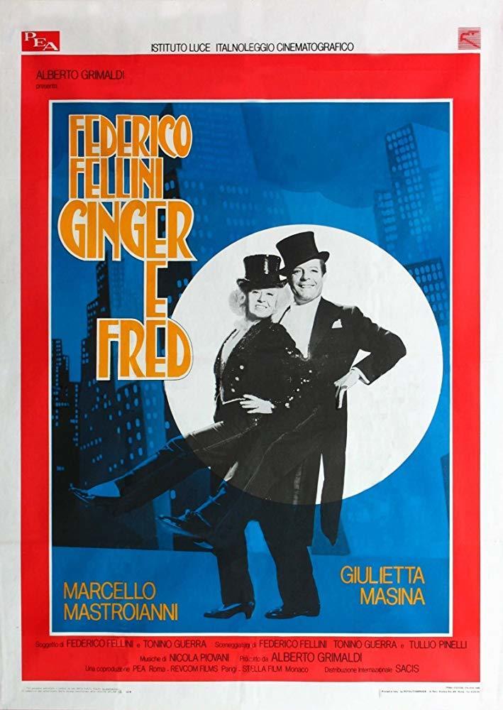 Cartel de Ginger y Fred
