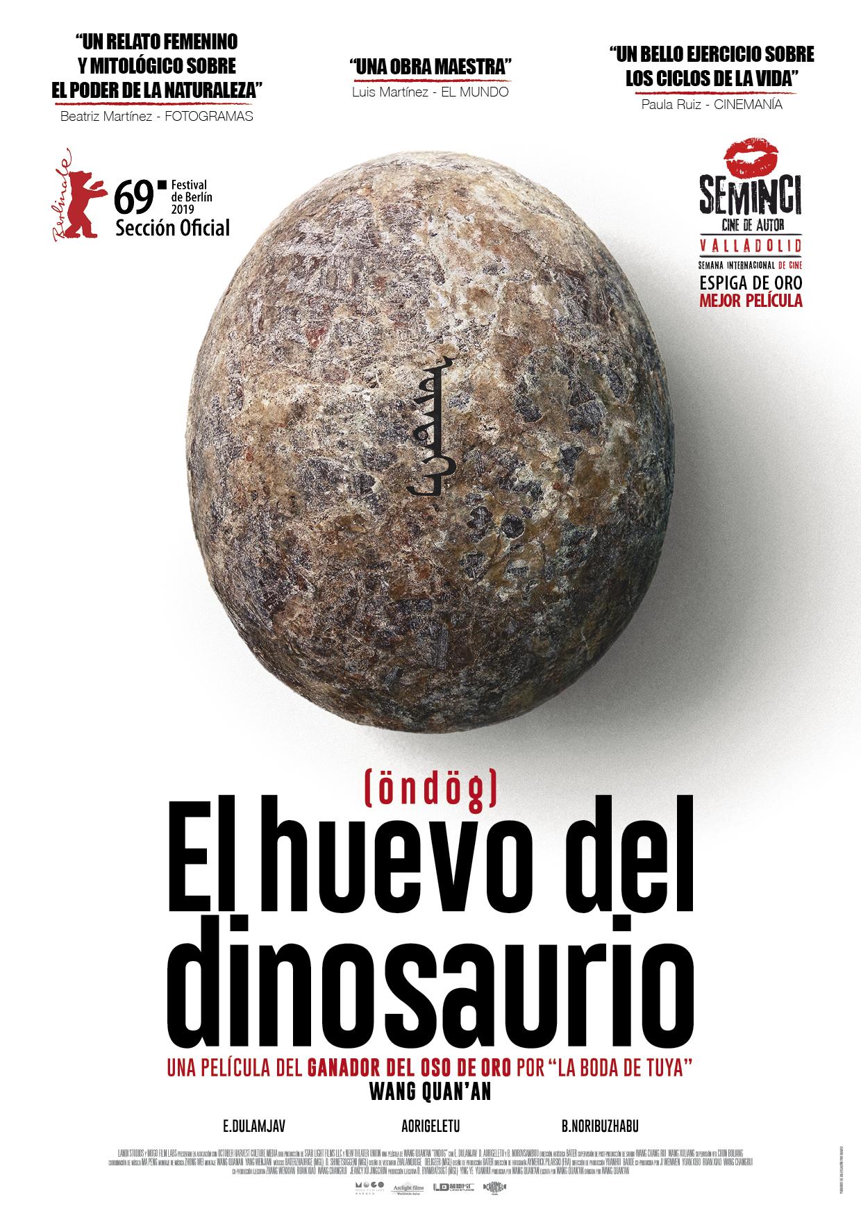 Cartel de El huevo del dinosaurio