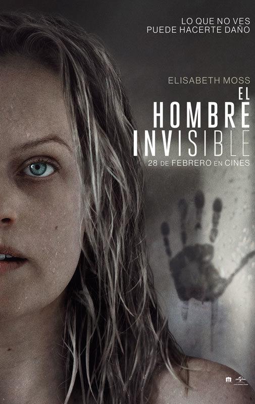 Cartel de El hombre invisible