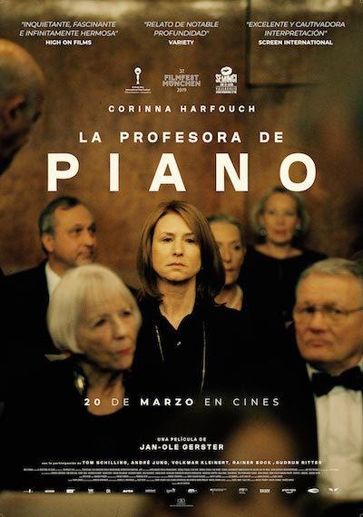 Cartel de La profesora de piano