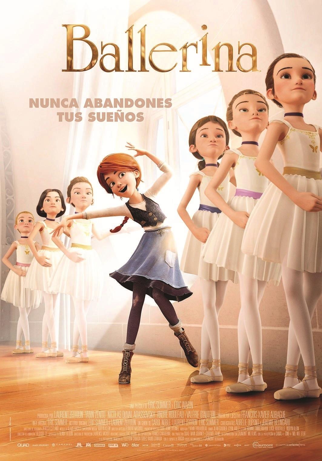 Cartel de Ballerina