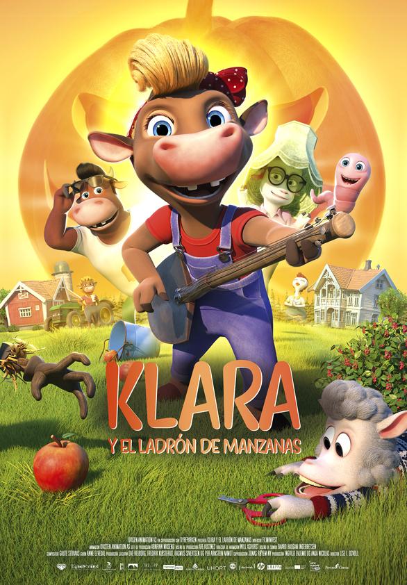 Cartel de Klara y el ladrón de manzanas