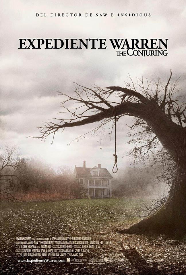Cartel de Expediente Warren: The Conjuring (2013)