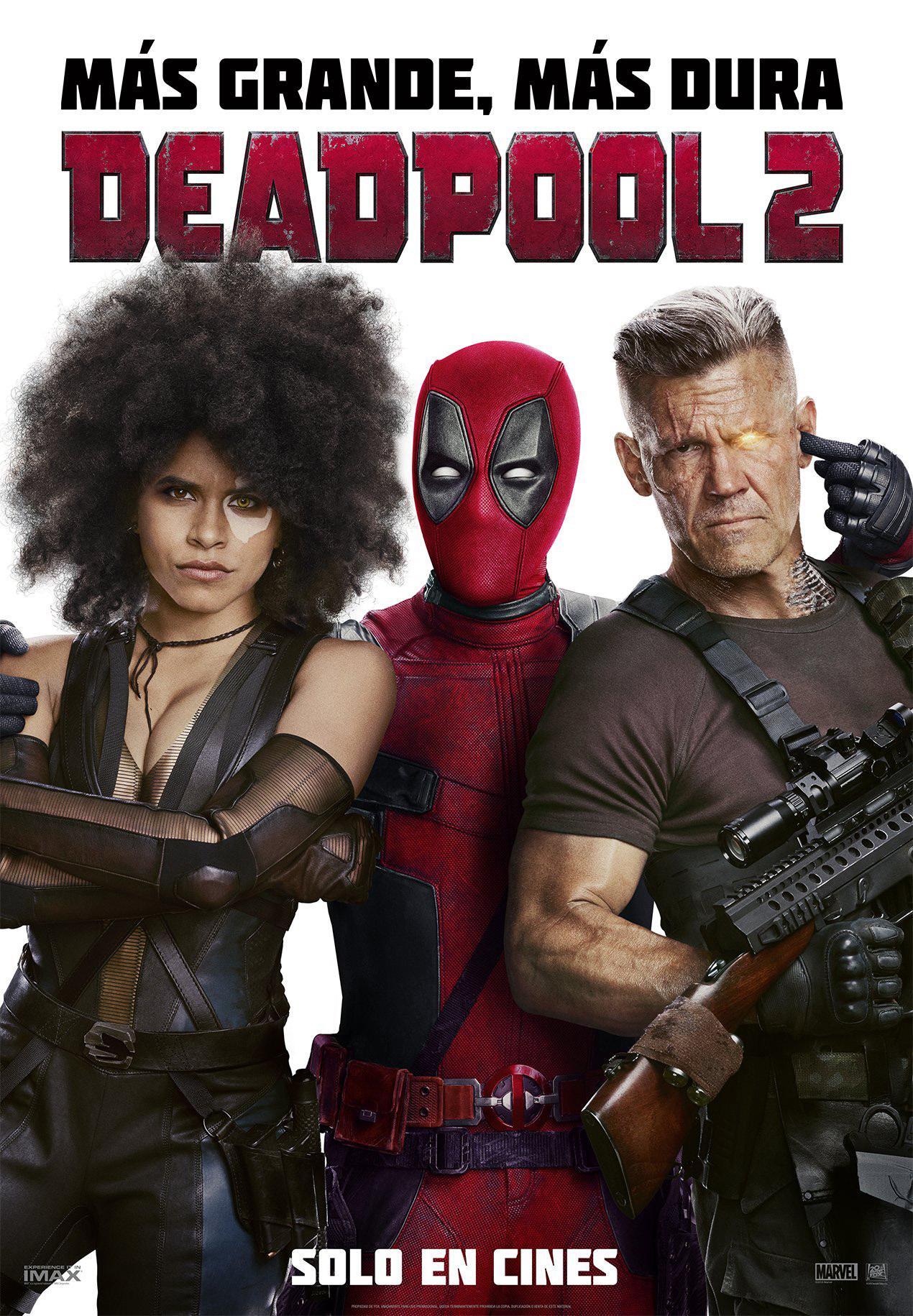Cartel de Deadpool 2
