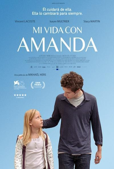Cartel de Mi vida con Amanda