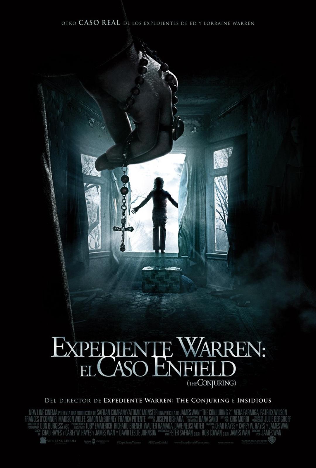 Cartel de Expediente Warren: El caso Enfield (The Conjuring)