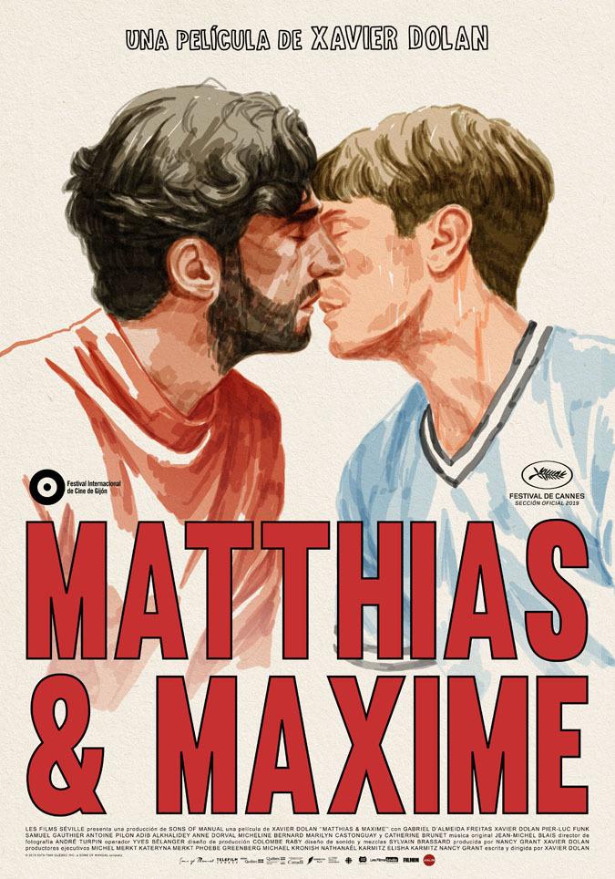 Cartel de Matthias & Maxime