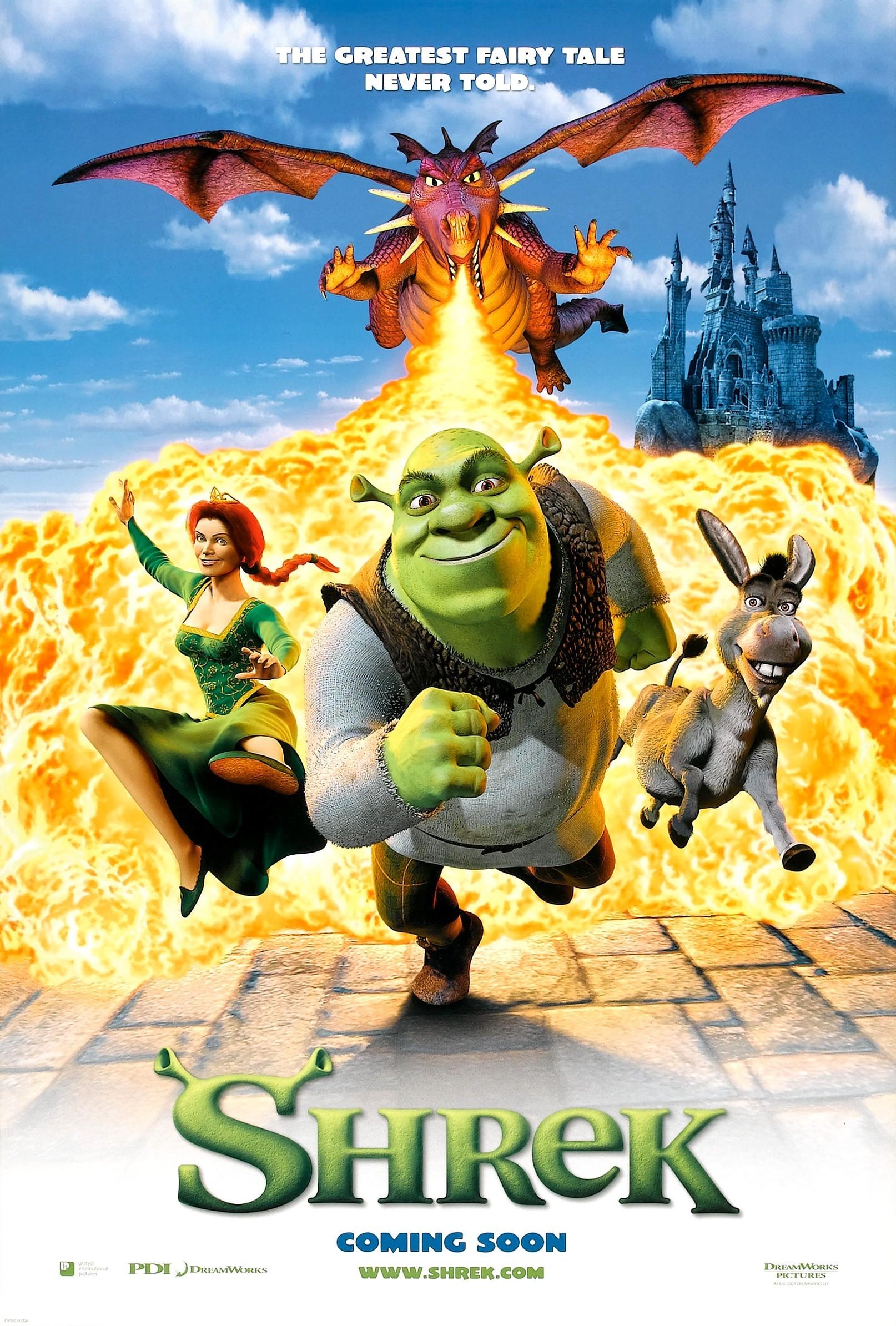 Cartel de Shrek