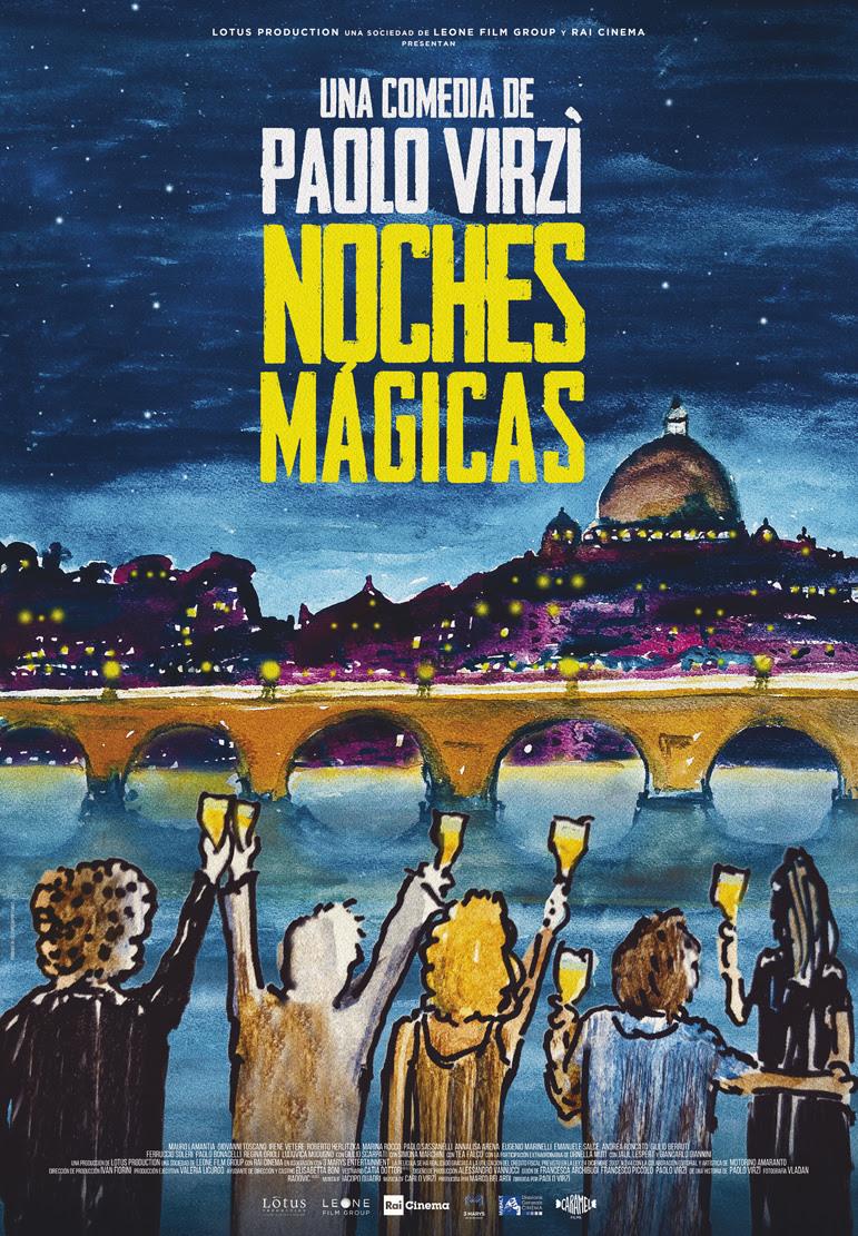 Cartel de Noches mágicas