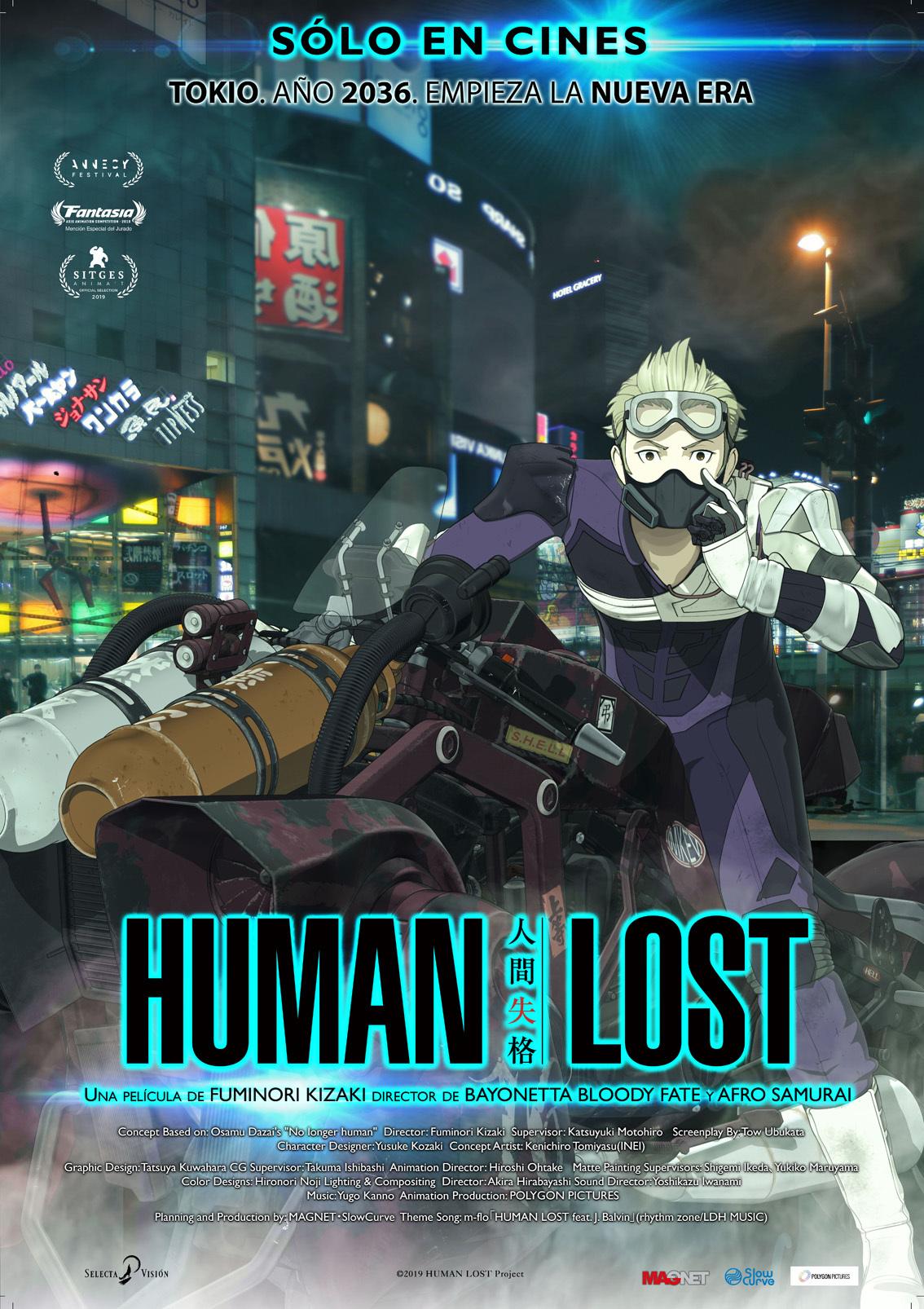 Cartel de Human Lost