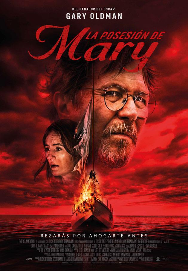 Cartel de La posesión de Mary