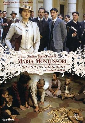 Cartel de La verdadera historia de Maria Montessori