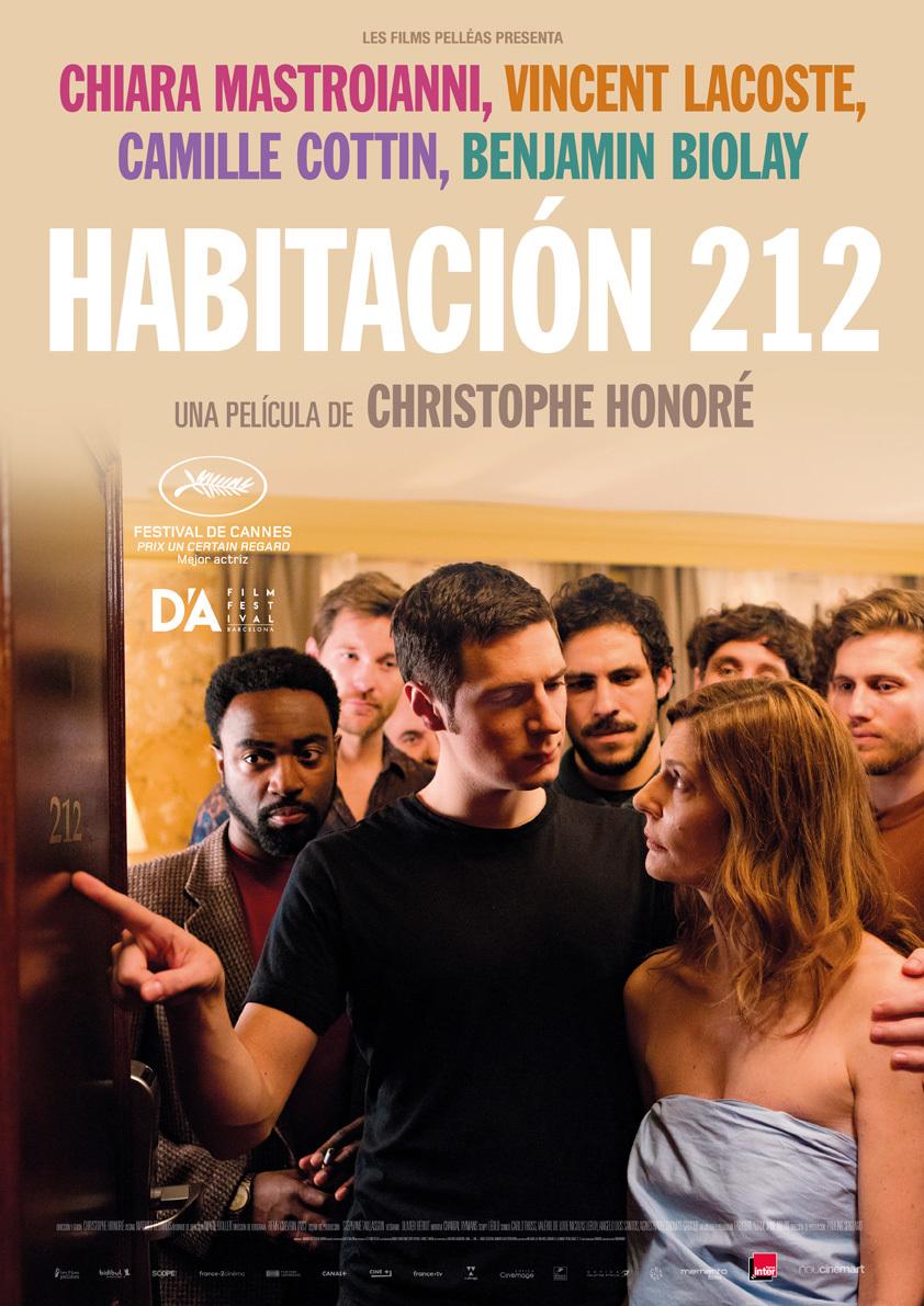 Cartel de Habitación 212
