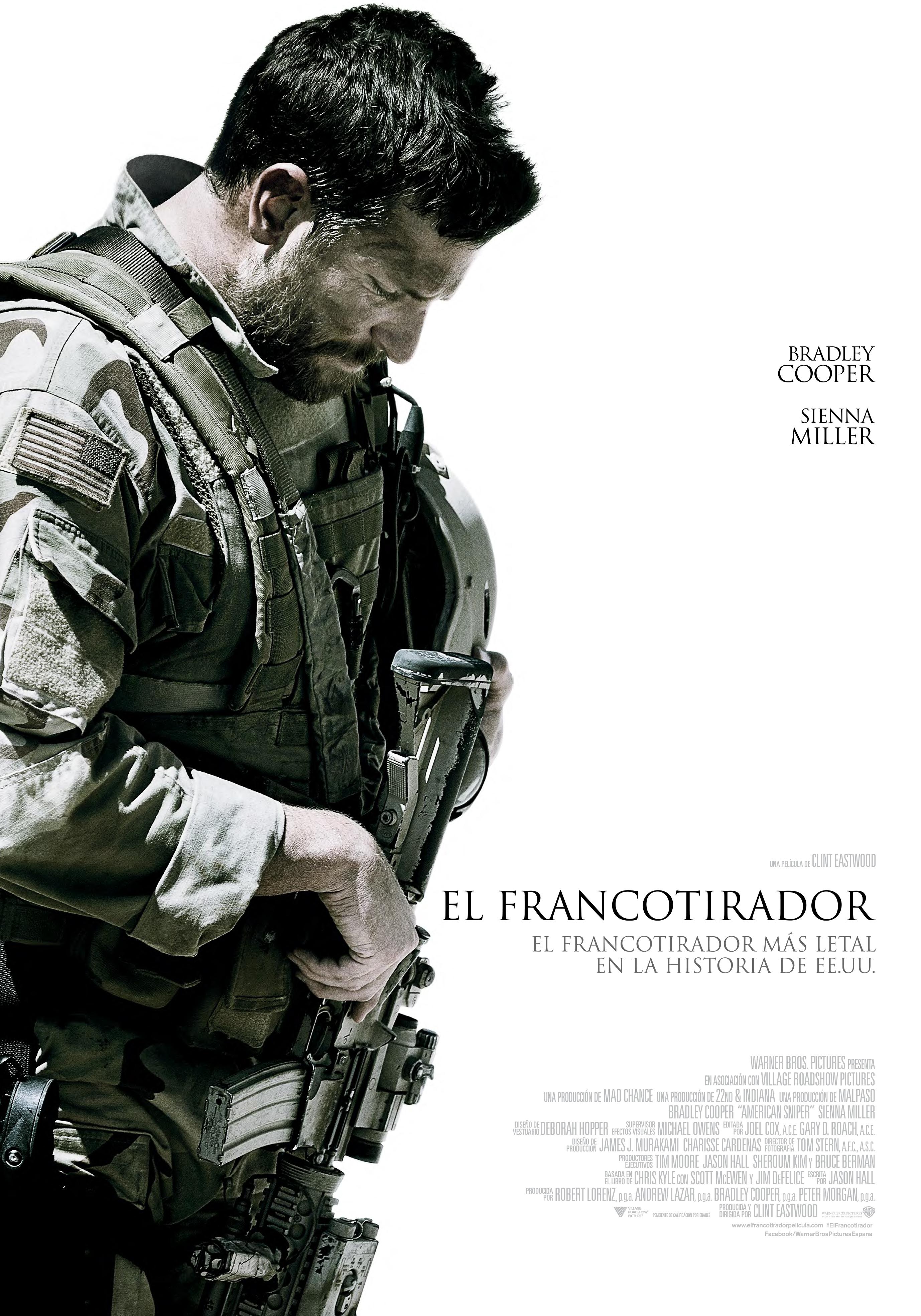 Cartel de El francotirador
