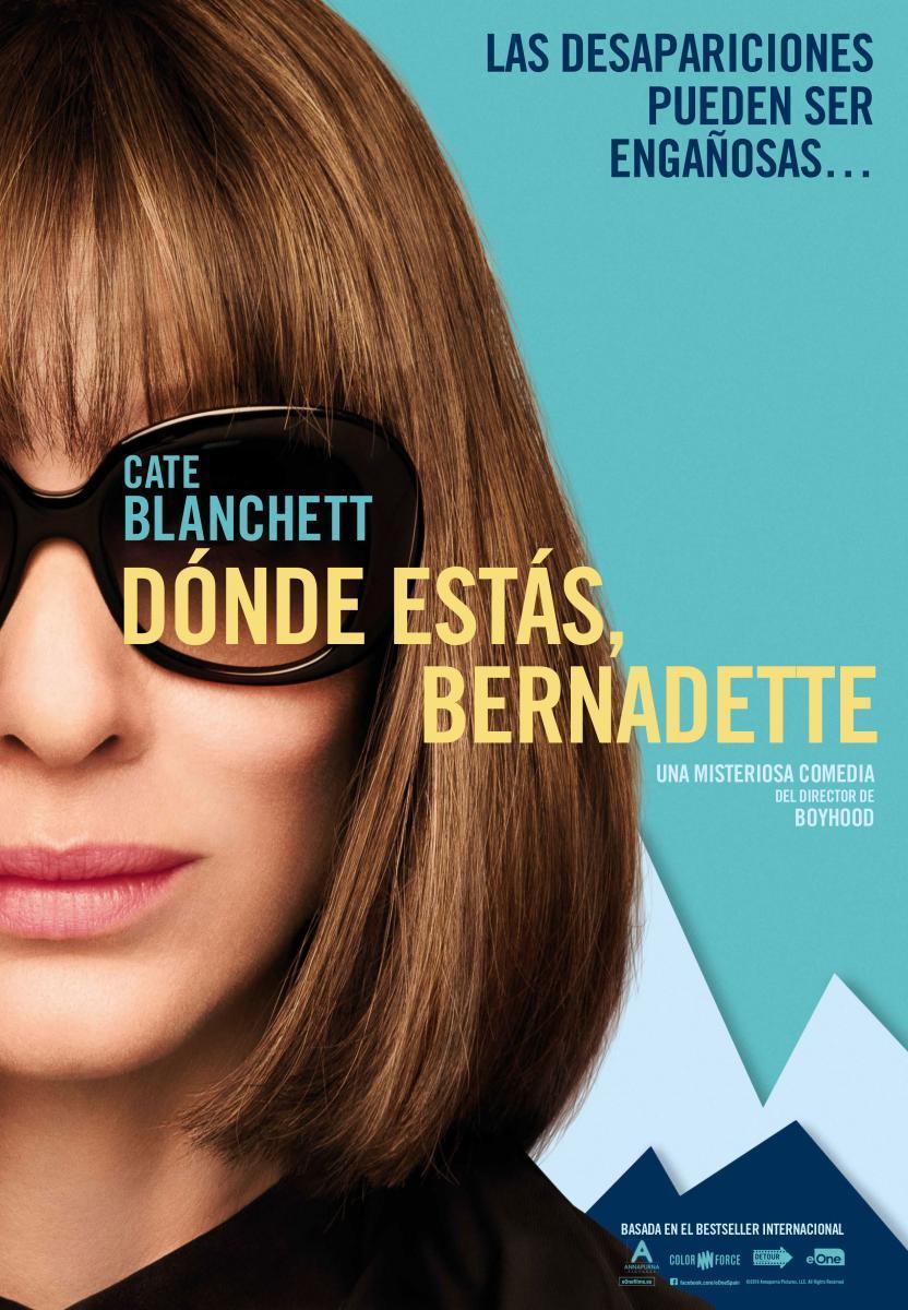 Cartel de Dónde estás, Bernadette