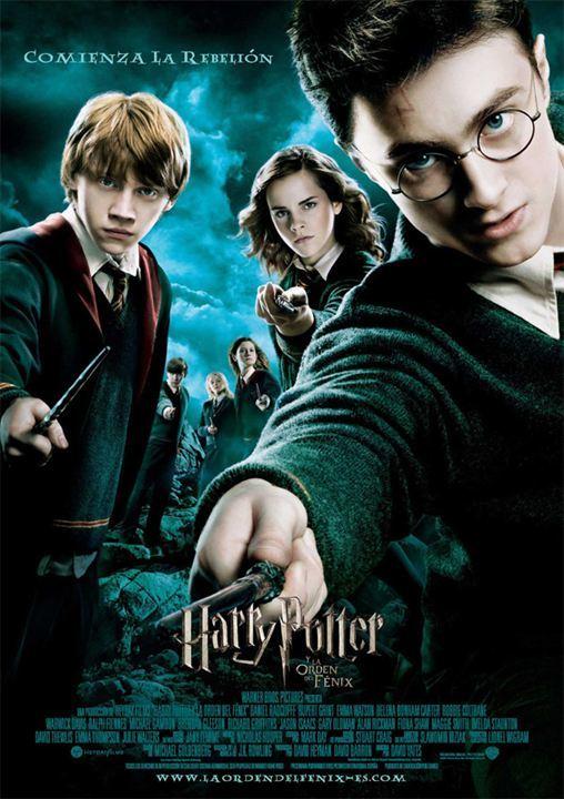 Cartel de Harry Potter y la Orden del Fénix