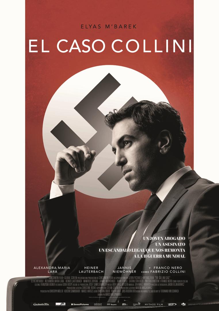Cartel de El caso Collini