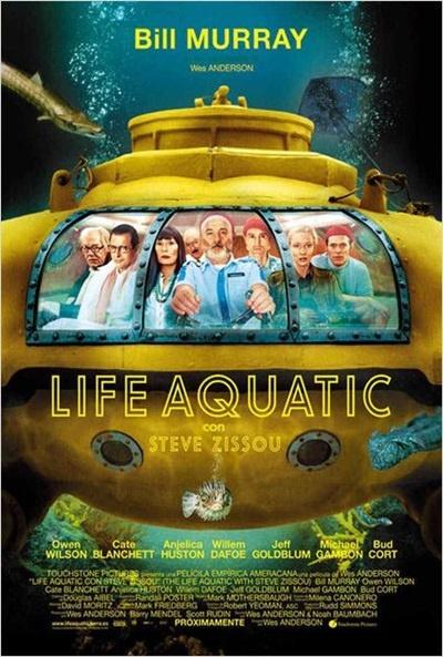 Cartel de Life Aquatic